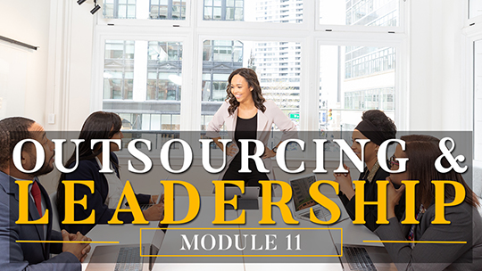 Outsourcing and Leadership
